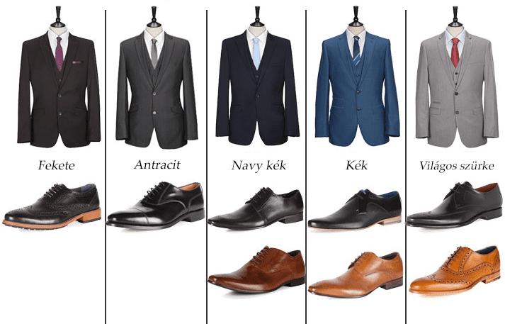 A Cipőbűvölő! Te sem tudod, hogyan válasz olyan cipőt ami passzol az öltönyödhöz?