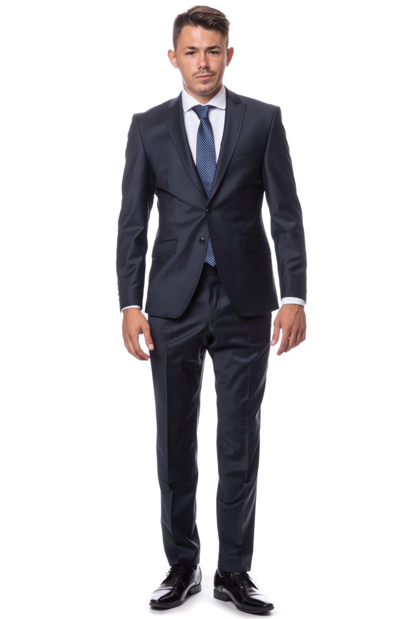Teramo Wilvorst sötétkék öltöny