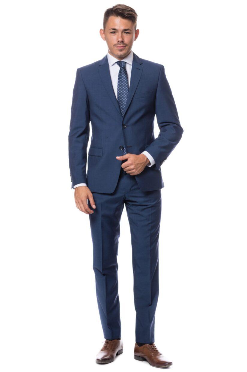 Trapani Atelier Torino kék öltöny