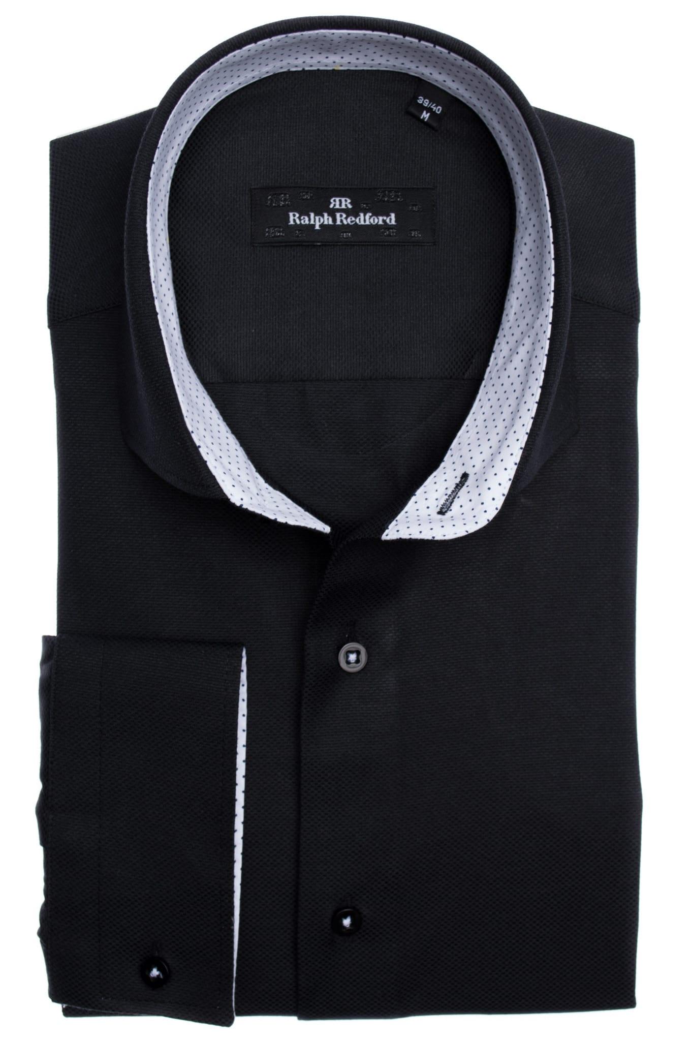 3a840320b9 Ralph Redford Fekete Ing - Elite Fashion Öltönyház