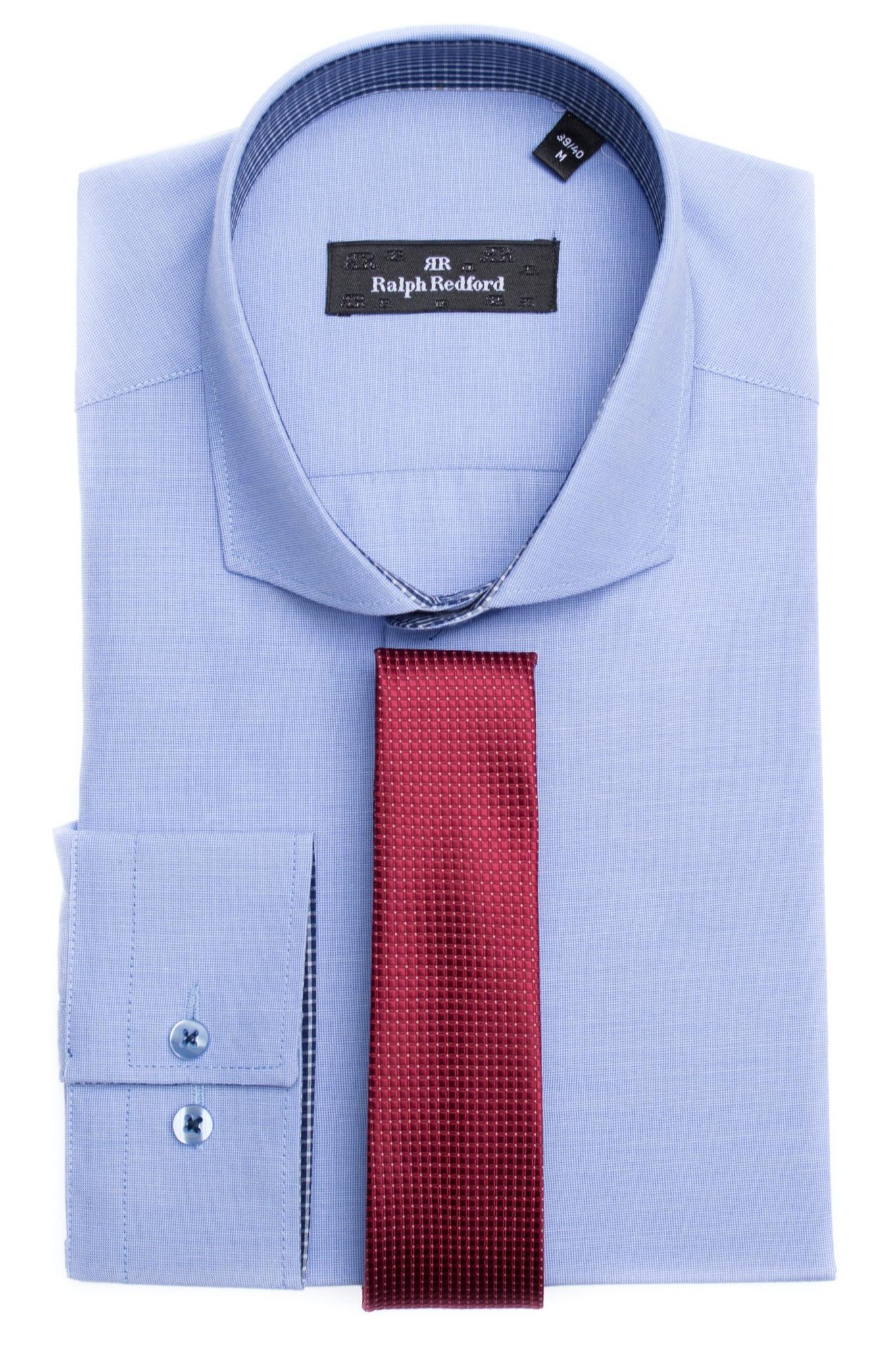 64006d0198 Ralph Redford Kék-Piros Kockás Ing - Elite Fashion Öltönyház