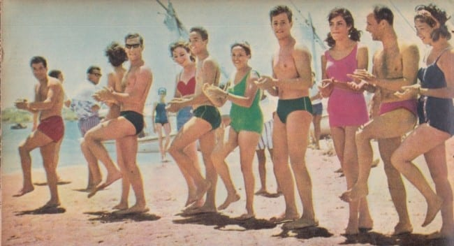 Elite Fashion - június - fürdőnaci 1960