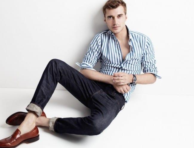 Elite Fashion - június - kék csíkok kép 1