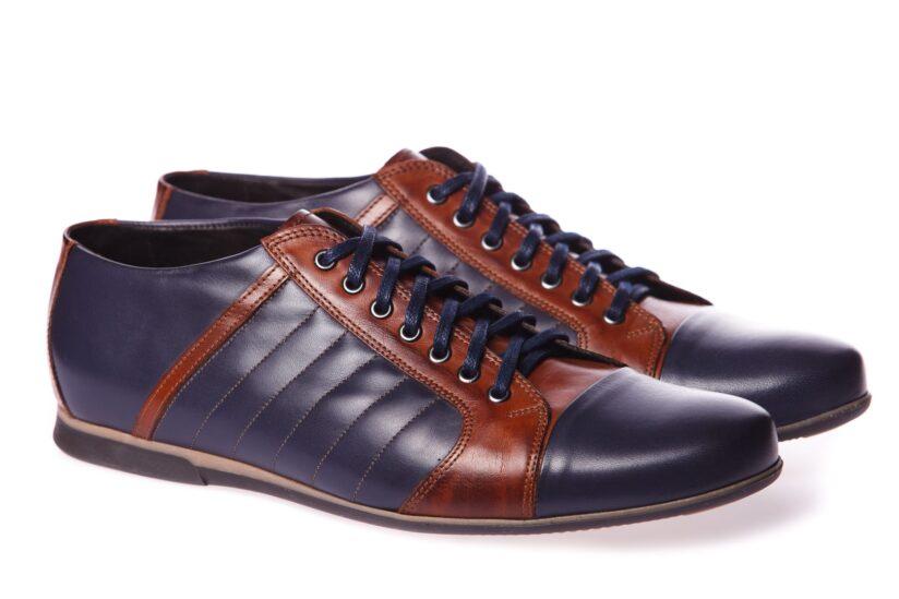 Kék-Barna Sportcipő