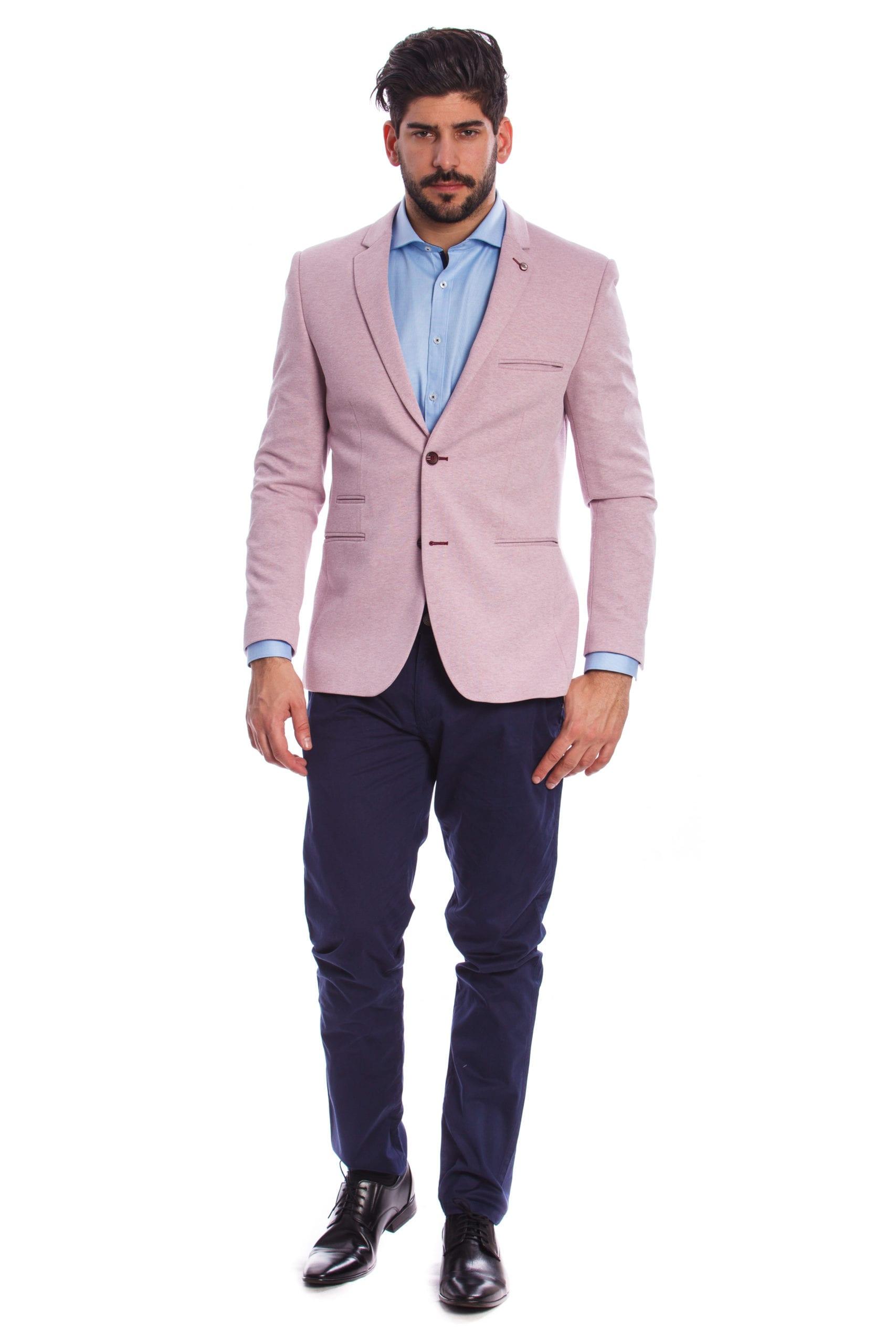cda563d050 Brindisi Rózsaszín Slim Fit Sportzakó - Elite Fashion Öltönyház