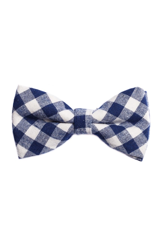 8707e4b5a8 Ralph Redford Fehér-Kék Kockás Csokornyakkendő - Elite Fashion Öltönyház