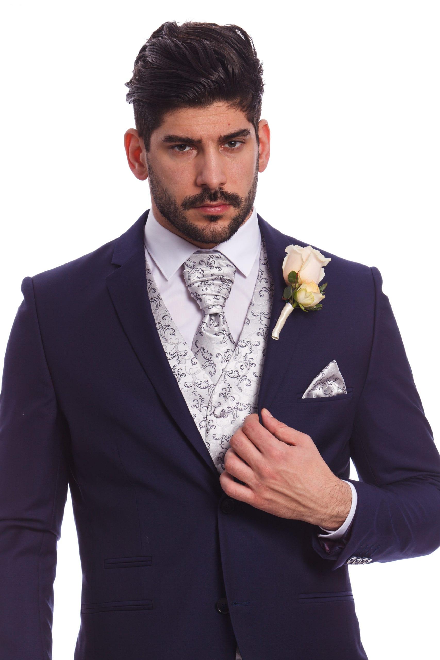 544ecd9ca1 Szürke Mintás Esküvői Mellény Szett - Elite Fashion Öltönyház