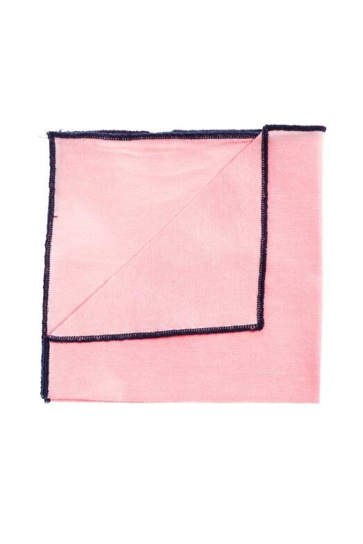 Ralph Redford Rózsaszín-Kék Díszzsebkendő