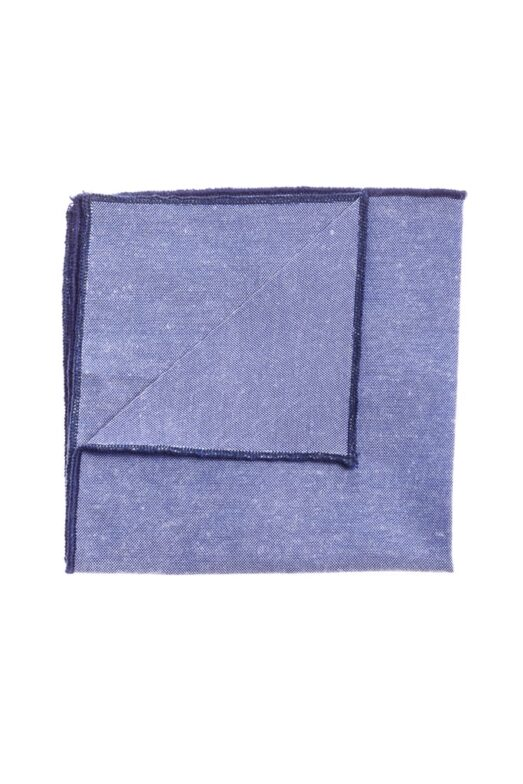 Ralph Redford Kék-Sötétkék Díszzsebkendő