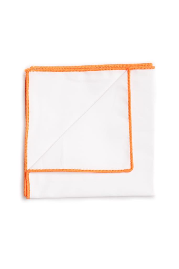 Ralph Redford Fehér-Narancs Díszzsebkendő