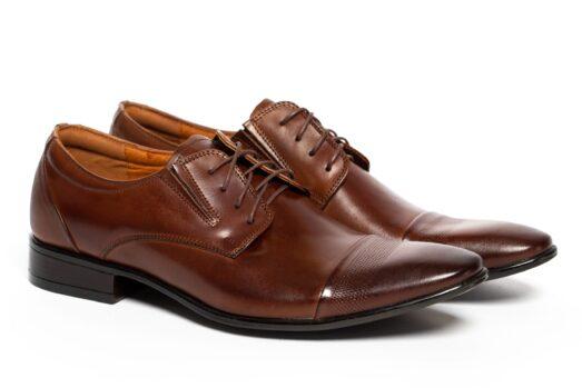 Barna Alkalmi Bőr Cipő