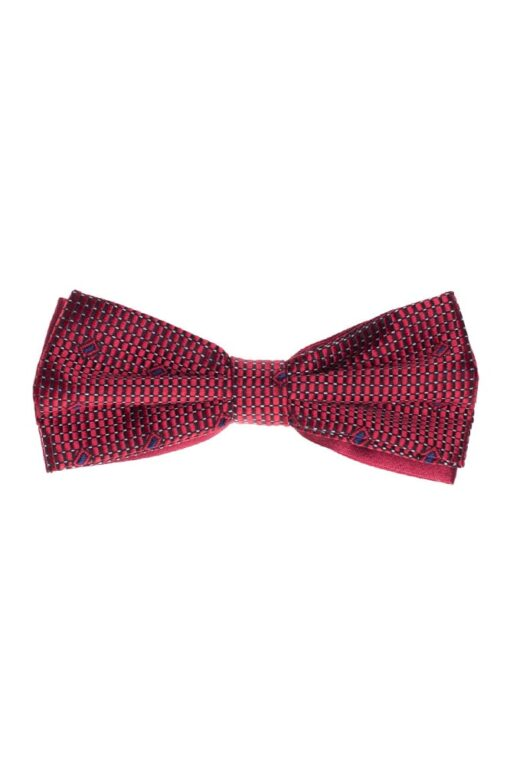 D&D Piros-Mintás Csokornyakkendő