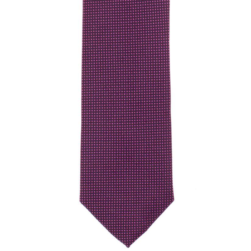 Bordó pöttyös nyakkendő