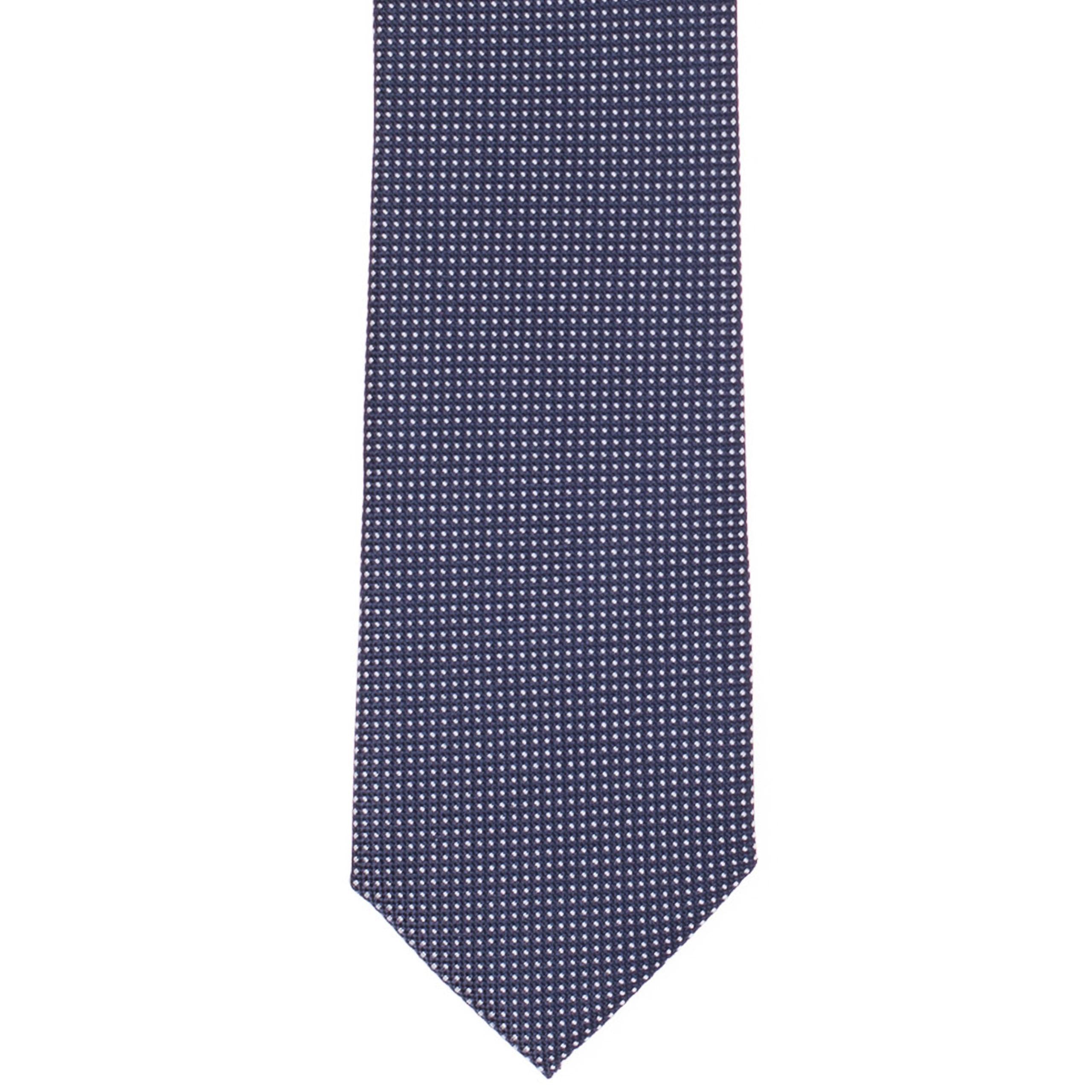 Sötétszürke mintás nyakkendő